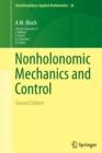 Image for Nonholonomic Mechanics and Control
