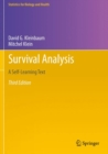 Image for Survival Analysis : A Self-Learning Text, Third Edition