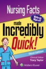 Image for Nursing facts made incredibly quick!
