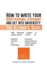 Image for How to write your UCAS personal statement and get into university  : the ultimate guide