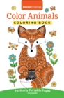 Image for Color Animals Coloring Book : Perfectly Portable Pages