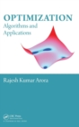 Image for Optimization  : algorithms and applications