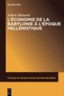 Image for L'economie de la Babylonie a l'epoque hellenistique (IVeme - IIeme siecle avant J.C.) : 14