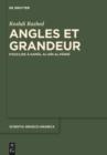 Image for Angles et grandeur: d'Euclide áa Kamåal al-Dåin al-Fåarisåi : Band 17