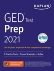 Image for GED test prep 2021  : 2 practice tests + proven strategies + online