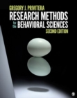 Image for Research methods for the behavioral sciences