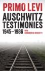 Image for Auschwitz testimonies, 1945-1986