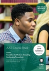Image for AAT bookkeeping transactions: Coursebook
