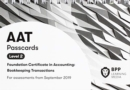 Image for AAT bookkeeping transactions: Passcards