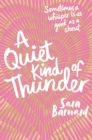 Image for A quiet kind of thunder