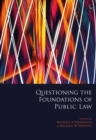 Image for Questioning the foundations of public law