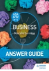 Image for AQA GCSE Business.: (Answer guide)