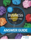 Image for AQA GCSE Business: Answer guide