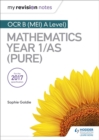 Image for OCR B (MEI) A Level mathematics Year 1/AS (Pure)