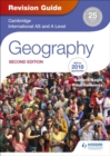 Image for Cambridge international AS and A level geography: Revision guide
