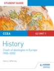 Image for CCEA A2-level history.: (Clash of ideologies in Europe (1900-2000)