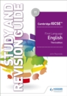 Image for Cambridge IGCSE first language EnglishStudy and revision guide