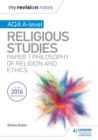 Image for Religious studies.: (Philosophy of religion and ethics paper 1) : AQA/A-Level,