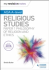 Image for Religious studiesAQA/A-Level,: Philosophy of religion and ethics paper 1
