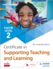 Image for CACHE level 2 certificate in supporting teaching and learning