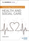 Image for Cambridge National Level 1/2 Health and Social Care