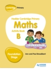 Image for Hodder Cambridge Primary Maths Activity Book B Foundation Stage