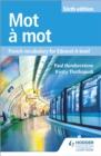 Image for Mot áa mot  : French vocabulary for Edexcel A-level