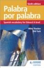 Image for Palabra por palabra  : Spanish vocabulary for Edexcel A-level