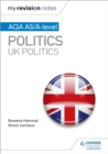 Image for AQA AS/A-level politics  : UK politics