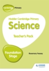 Image for Hodder Cambridge primary scienceFoundation stage,: Teacher's pack