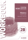 Image for Cambridge IGCSE and O Level History Workbook 2B - Depth study: Germany, 1918-45 : Workbook 2B,