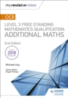 Image for OCR level 3 free standing mathematics qualification  : additional maths