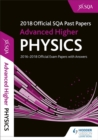 Image for Advanced higher physics 2018-19 SQA past papers with answers
