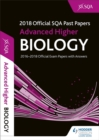 Image for Advanced Higher Biology 2018-19 SQA Past Papers with Answers