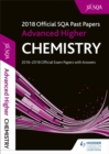 Image for Advanced higher chemistry 2018-19 SQA past papers with answers