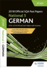 Image for National 5 German 2018-19 SQA past papers with answers