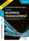 Image for Higher business management 2018-19 SQA specimen and past papers with answers.