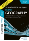 Image for Higher geography 2018-19 SQA specimen and past papers with answers