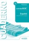 Image for Cambridge IGCSE™ Español Como Primera Lengua Cuaderno De Ejercicios