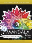 Image for 50 Mandala to Color with Dark background : Coloring Books for Adults and Kids