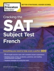 Image for Cracking the Sat French Subject Test