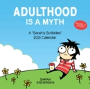 Image for Sarah's Scribbles 2021 Wall Calendar : Adulthood is a Myth