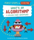 Image for First Steps in Coding: What's an Algorithm? : A splash park adventure!