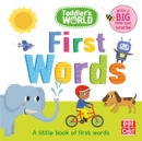 Image for First words  : a little book of first words