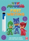 Image for PJ Masks: First Writing Wipe Clean : Get ready to write with the PJ Masks!