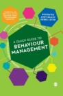 Image for A quick guide to behaviour management