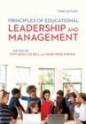 Image for Principles of educational leadership & management
