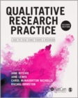 Image for Qualitative research practice  : a guide for social science students and researchers