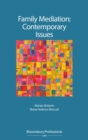 Image for Family mediation  : contemporary issues