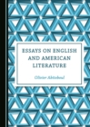 Image for Essays on English and American literature